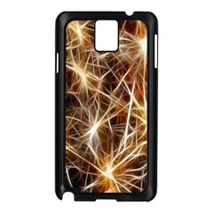 Star Golden Christmas Connection Samsung Galaxy Note 3 N9005 Case (black)