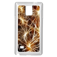 Star Golden Christmas Connection Samsung Galaxy Note 4 Case (White)