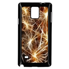 Star Golden Christmas Connection Samsung Galaxy Note 4 Case (black)