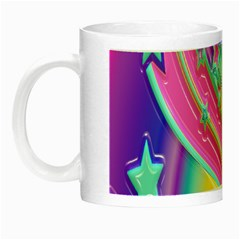 Star Christmas Pattern Texture Night Luminous Mugs