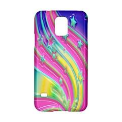Star Christmas Pattern Texture Samsung Galaxy S5 Hardshell Case