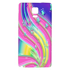 Star Christmas Pattern Texture Galaxy Note 4 Back Case