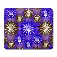Stars Patterns Christmas Background Seamless Large Mousepads