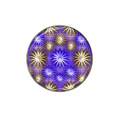 Stars Patterns Christmas Background Seamless Hat Clip Ball Marker (10 Pack)