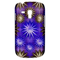 Stars Patterns Christmas Background Seamless Galaxy S3 Mini