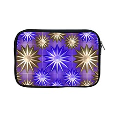 Stars Patterns Christmas Background Seamless Apple Ipad Mini Zipper Cases