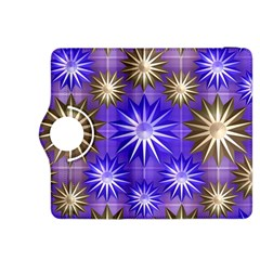 Stars Patterns Christmas Background Seamless Kindle Fire HDX 8.9  Flip 360 Case