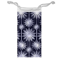 Stars Patterns Christmas Background Seamless Jewelry Bag