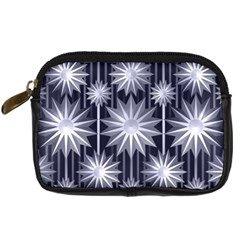Stars Patterns Christmas Background Seamless Digital Camera Cases