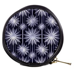 Stars Patterns Christmas Background Seamless Mini Makeup Bags