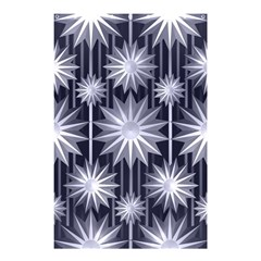 Stars Patterns Christmas Background Seamless Shower Curtain 48  X 72  (small)