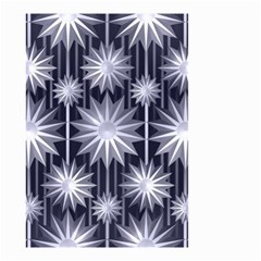 Stars Patterns Christmas Background Seamless Small Garden Flag (two Sides)