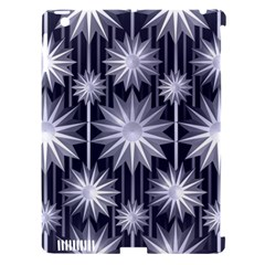 Stars Patterns Christmas Background Seamless Apple Ipad 3/4 Hardshell Case (compatible With Smart Cover)