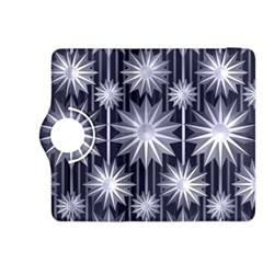 Stars Patterns Christmas Background Seamless Kindle Fire Hdx 8 9  Flip 360 Case