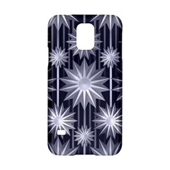 Stars Patterns Christmas Background Seamless Samsung Galaxy S5 Hardshell Case
