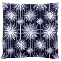 Stars Patterns Christmas Background Seamless Standard Flano Cushion Case (One Side)