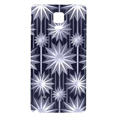 Stars Patterns Christmas Background Seamless Galaxy Note 4 Back Case
