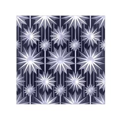 Stars Patterns Christmas Background Seamless Small Satin Scarf (Square)