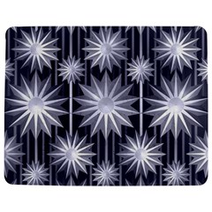 Stars Patterns Christmas Background Seamless Jigsaw Puzzle Photo Stand (Rectangular)