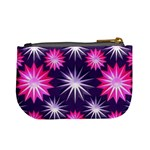 Stars Patterns Christmas Background Seamless Mini Coin Purses Back