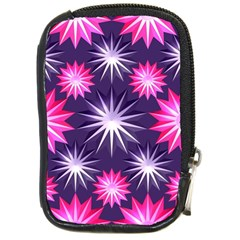 Stars Patterns Christmas Background Seamless Compact Camera Cases