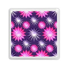 Stars Patterns Christmas Background Seamless Memory Card Reader (square)