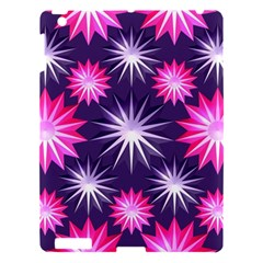 Stars Patterns Christmas Background Seamless Apple iPad 3/4 Hardshell Case