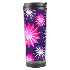 Stars Patterns Christmas Background Seamless Travel Tumbler