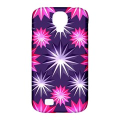 Stars Patterns Christmas Background Seamless Samsung Galaxy S4 Classic Hardshell Case (pc+silicone)