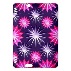 Stars Patterns Christmas Background Seamless Kindle Fire Hdx Hardshell Case