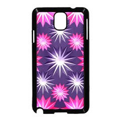 Stars Patterns Christmas Background Seamless Samsung Galaxy Note 3 Neo Hardshell Case (black)