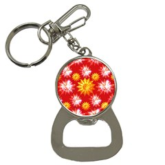 Stars Patterns Christmas Background Seamless Button Necklaces