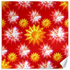 Stars Patterns Christmas Background Seamless Canvas 16  x 16