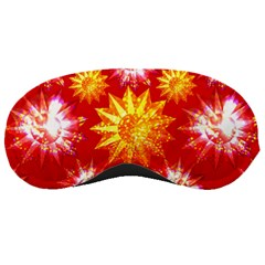 Stars Patterns Christmas Background Seamless Sleeping Masks