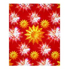 Stars Patterns Christmas Background Seamless Shower Curtain 60  x 72  (Medium)