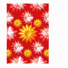 Stars Patterns Christmas Background Seamless Large Garden Flag (two Sides)