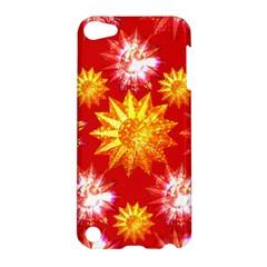 Stars Patterns Christmas Background Seamless Apple Ipod Touch 5 Hardshell Case