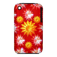 Stars Patterns Christmas Background Seamless iPhone 3S/3GS