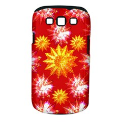 Stars Patterns Christmas Background Seamless Samsung Galaxy S Iii Classic Hardshell Case (pc+silicone)