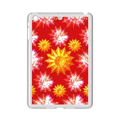Stars Patterns Christmas Background Seamless Ipad Mini 2 Enamel Coated Cases
