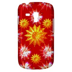 Stars Patterns Christmas Background Seamless Galaxy S3 Mini