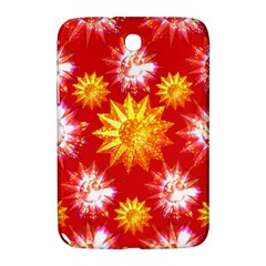 Stars Patterns Christmas Background Seamless Samsung Galaxy Note 8.0 N5100 Hardshell Case