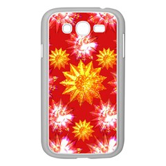 Stars Patterns Christmas Background Seamless Samsung Galaxy Grand Duos I9082 Case (white)