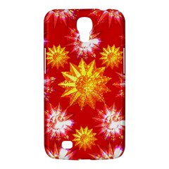 Stars Patterns Christmas Background Seamless Samsung Galaxy Mega 6.3  I9200 Hardshell Case
