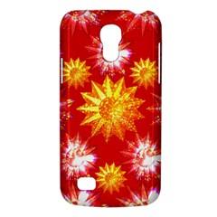 Stars Patterns Christmas Background Seamless Galaxy S4 Mini