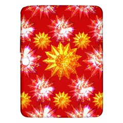Stars Patterns Christmas Background Seamless Samsung Galaxy Tab 3 (10 1 ) P5200 Hardshell Case