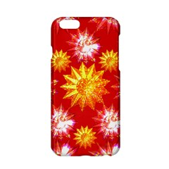 Stars Patterns Christmas Background Seamless Apple Iphone 6/6s Hardshell Case