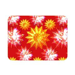 Stars Patterns Christmas Background Seamless Double Sided Flano Blanket (Mini)