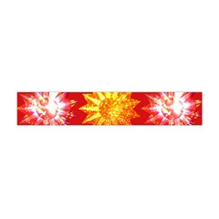 Stars Patterns Christmas Background Seamless Flano Scarf (mini)