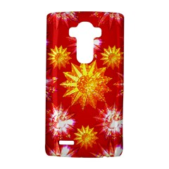 Stars Patterns Christmas Background Seamless Lg G4 Hardshell Case